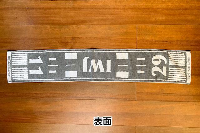 【萩・石見空港】滑走路タオル
