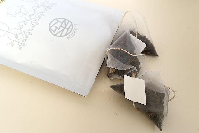秀翠園のつわ乃紅茶ティーバッグ